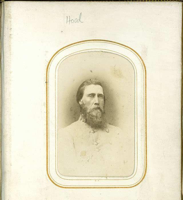 Confederate General John Bell Hood