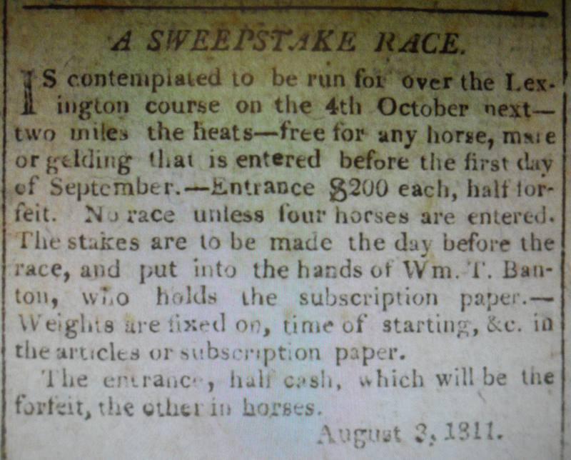 Race Advertisement