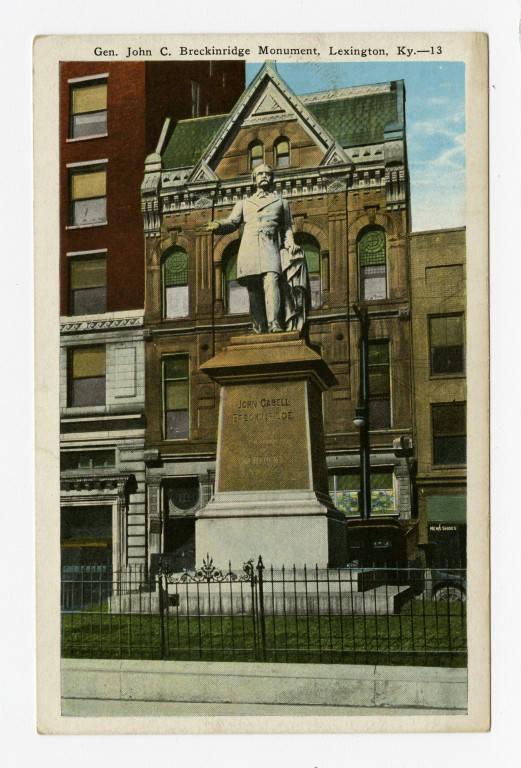 Statue of John C. Breckinridge