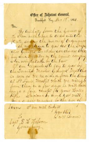 Scott Brown Letter