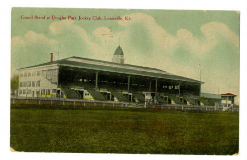 Douglas Park Grandstand