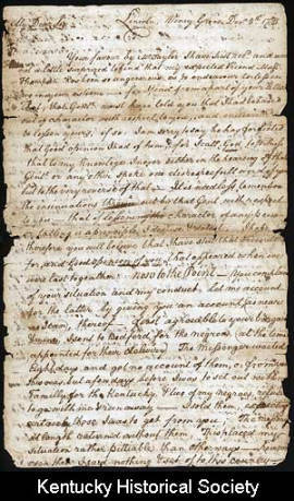 Stephen Trigg Letter