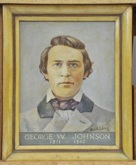 Confederate Governor George W. Johnson