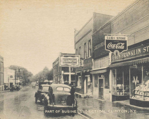 Downtown Clinton, Hickman County, Kentucky