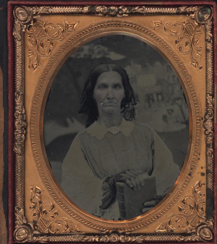 Martha Ferguson, Champ Ferguson's wife