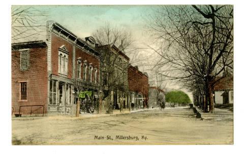 Main Street, Millersburg, Kentucky