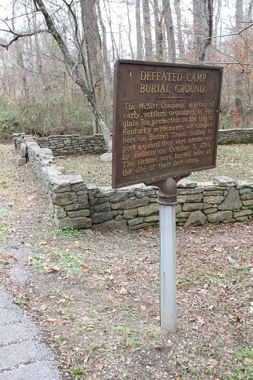 Defeated Camp Burial Ground