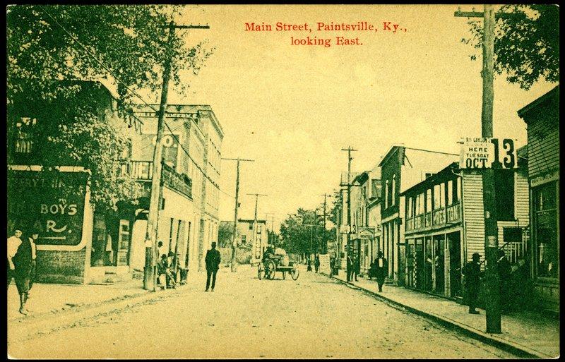 Main Street, Paintsville, Kentucky&lt;br /&gt;<br />