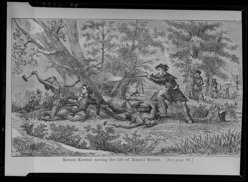 Simon Kenton saves Daniel Boone
