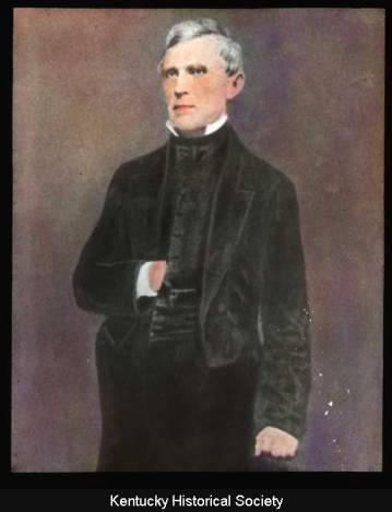 John J. Crittenden Portrait