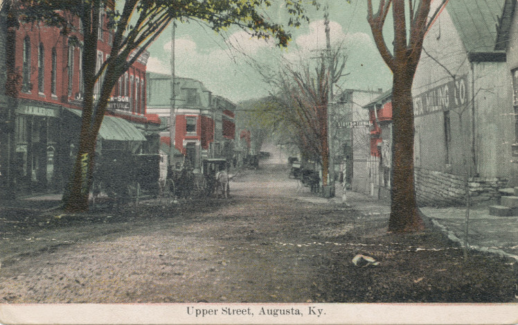 Upper Street, Augusta, Kentucky