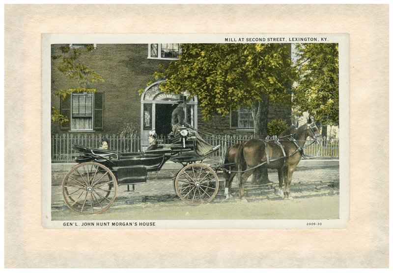 Historic postcard of Hunt Morgan House.&lt;br /&gt;<br />