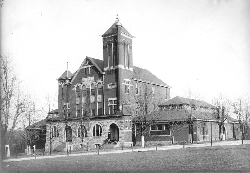 Barker Hall and Buell Armory
