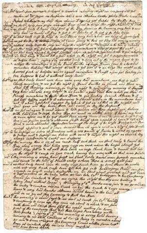 William Calk Journal
