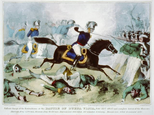 Charge of the Kentucky Cavalry