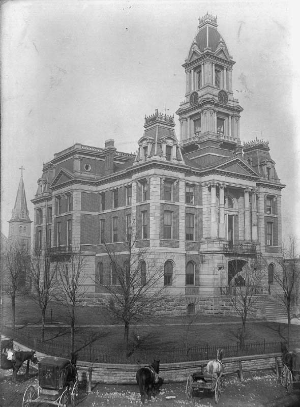 Bourbon County Courthouse, 1873-1901
