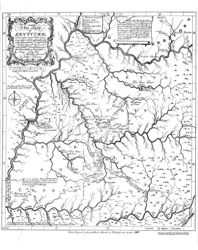 John Filson Map