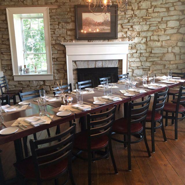 Old Stone Inn Dining Room