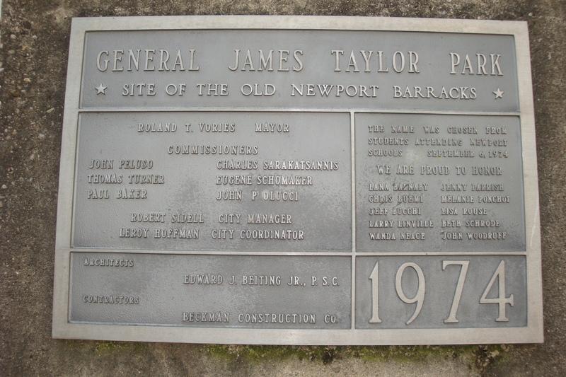 General James Taylor Park