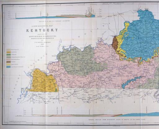 Geological Map of Kentucky