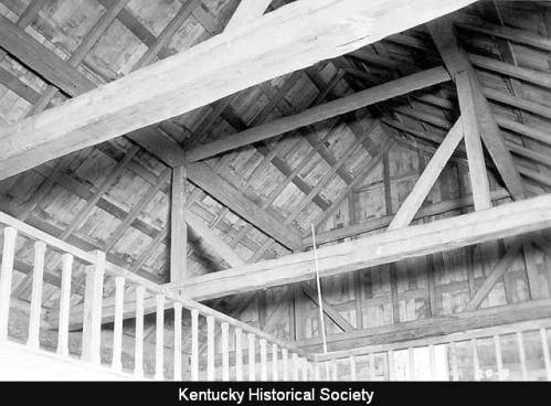 Rafters of the Cane Ridge Meeting House
