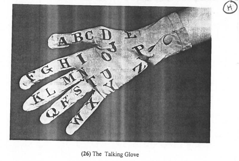 "Heady's ""Talking Glove"""