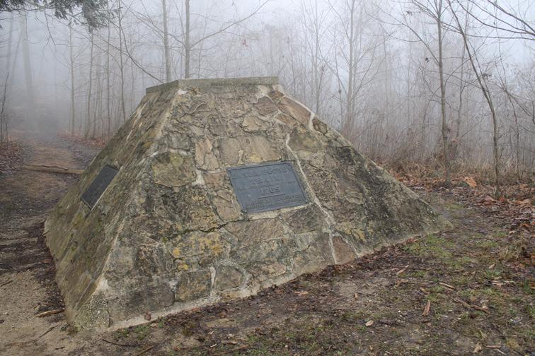 Cumberland Gap D.A.R. Monument