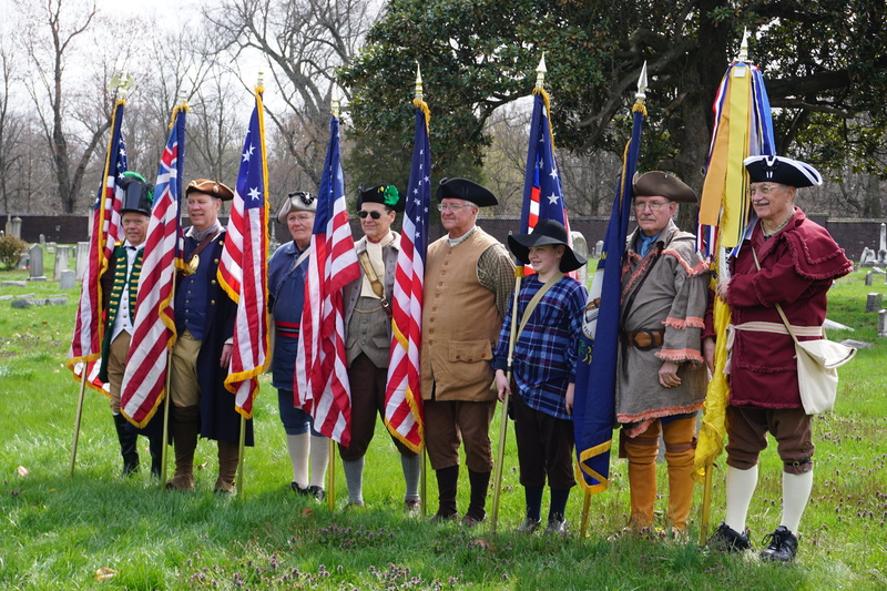 Isaac Shelby Chapter of the Sons of the American Revolution at the dedication of marker 2532.JPG