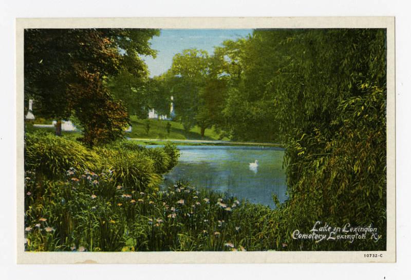 Lake in Cemetery