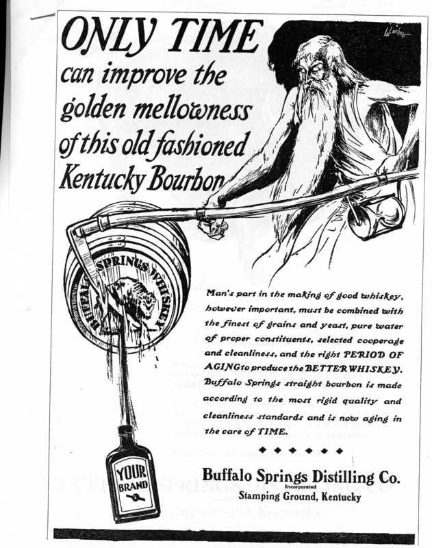 Buffalo Springs Advertisement