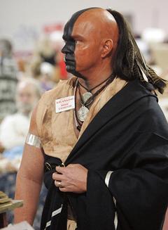 Shawnee Reenactor