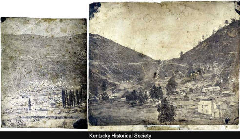 Cumberland Gap, 1862