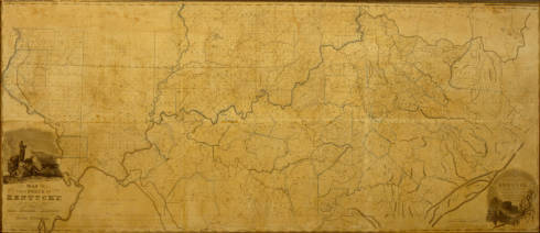 1818 Kentucky Map