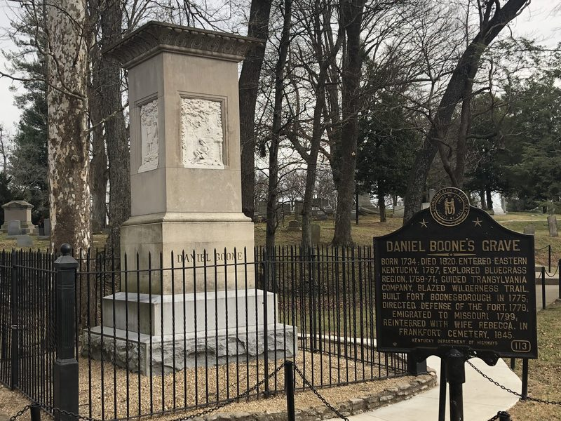 Daniel Boone's Grave and Historical Marker #113