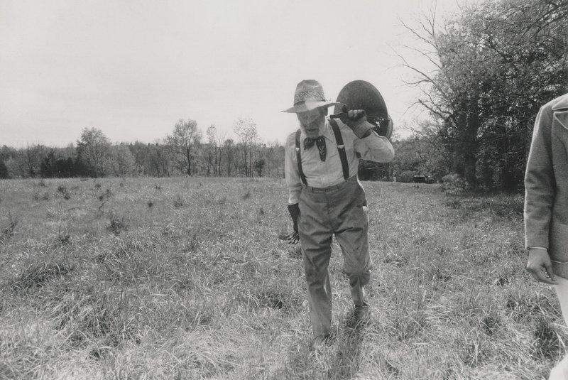 Man Carries Coal in Eastern Kentucky