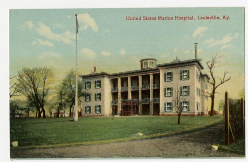 United States Marine Hospital, Louisville, KY, 1910