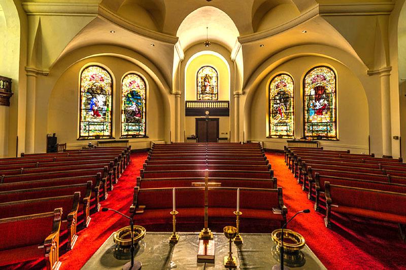 First Christian Church Interior