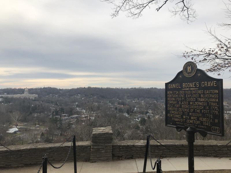 Daniel Boone's Grave Historical Marker