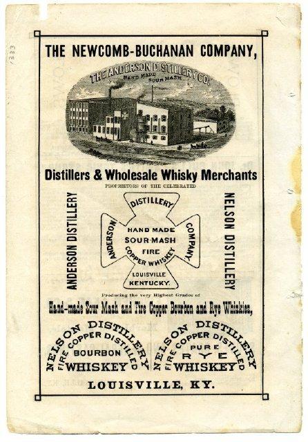Distillery Advertisement