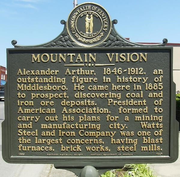 Mountain Vision Historical Marker
