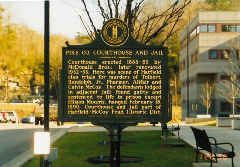Historical Marker #1866-Pike Co. Courthouse and Jail